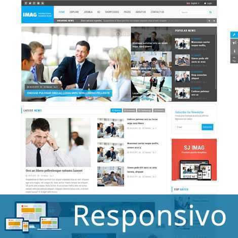 Template noticias responsivo super eleva 163