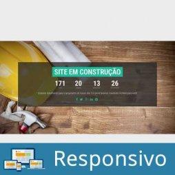 Template site em construção responsivo super eleva 004