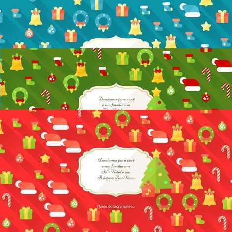 Cartão de Natal Animado Template em HTML 002