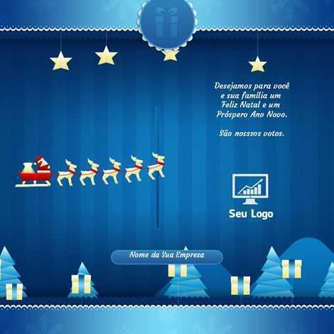 Cartão de Natal Animado