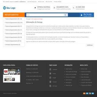 Criar Loja Virtual Template Opencart Português 197 v4