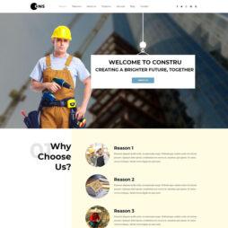 Criar Site Construção 165