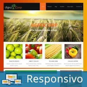 Template agricultura agro script site pronto responsivo super eleva 181