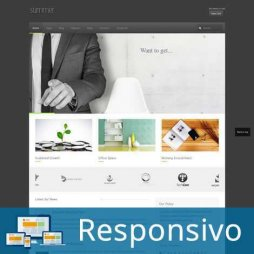 Template empresa cinza script site pronto responsivo super eleva 180