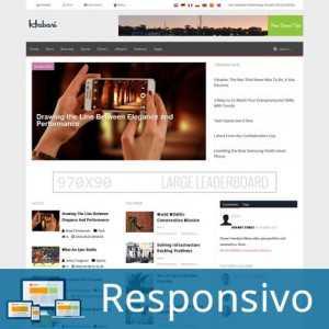 Template notícias revista script site pronto responsivo super eleva 177