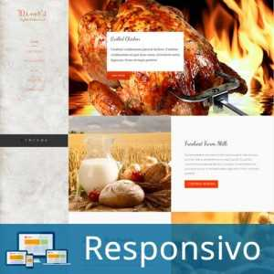 Template restaurante churrascaria script site pronto responsivo super eleva 178