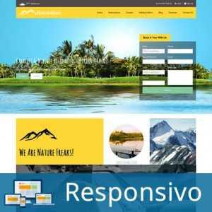 Template turismo agencia de viagem script site pronto responsivo super eleva 172
