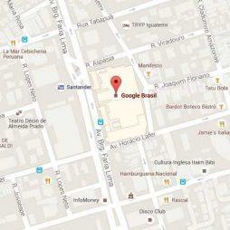 cadastrar no google maps