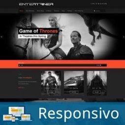 Template filme script site pronto responsivo super eleva 188