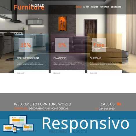 Template móveis script site pronto responsivo super eleva 182
