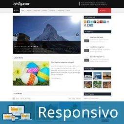 Template notícias revista script site pronto responsivo super eleva 191