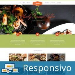 Template restaurante script site pronto responsivo super eleva 186