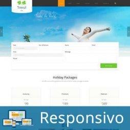 Template turismo agencia viagens script site pronto responsivo super eleva 185