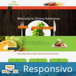 Template restaurante comida script site pronto responsivo super eleva 193
