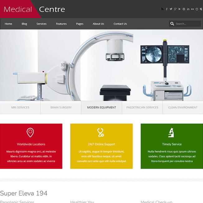 Criar Site Hospital Saúde