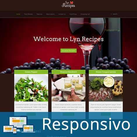 Restaurante Template Joomla Responsivo 202