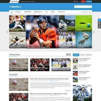 Criar Site Noticias Joomla Responsivo 203