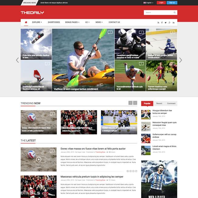 Criar Site Noticias Joomla Responsivo 203 v2