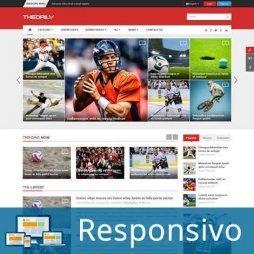 Template notícias revista script site pronto responsivo super eleva 203