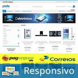 criar loja virtual template tema 211 pagseguro correios