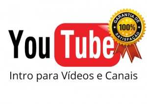 intro para videos e canais do youtube