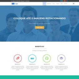 Criar Landing Page Wordpress Template 221