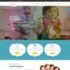 Criar Site Crianças Template Joomla 055