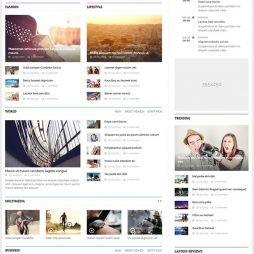 Criar Site De Notícias Blog Joomla 219 Template Tema v2