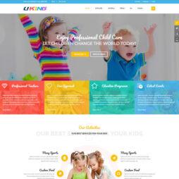 Criar Site Escola Infantil Joomla Responsivo 205