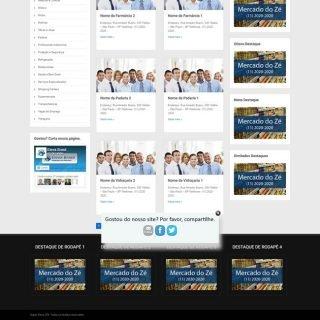 Criar Site Guia Comercial Template WordPress Português 204 V2