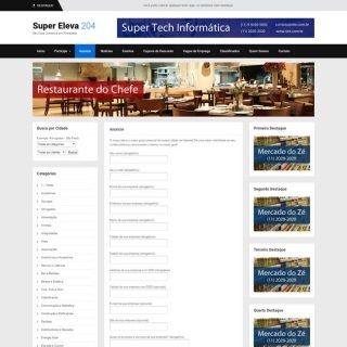 Criar Site Guia Comercial Template WordPress Português 204 V3