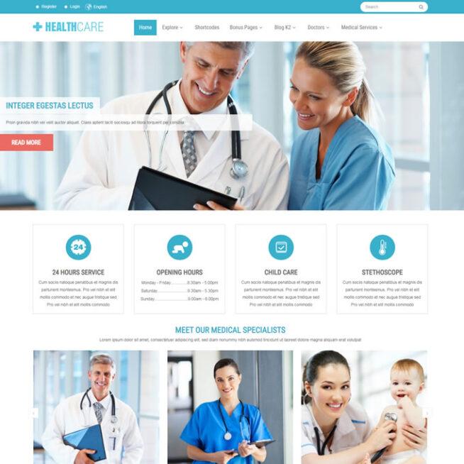 Criar Site Hospital Joomla Responsivo 243