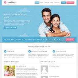 Criar Site Namoro Online Wordpress Português 235 A