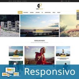 Template blog responsivo super eleva 225