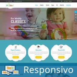 Template escola infantil responsivo super eleva 055