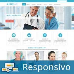 Template hospital saude clinica responsivo super eleva 243