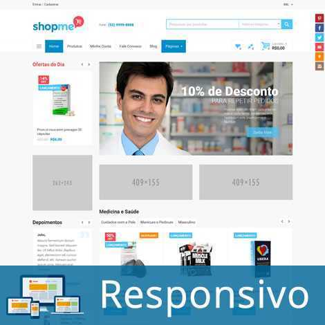 Template loja virtual responsivo super eleva 231