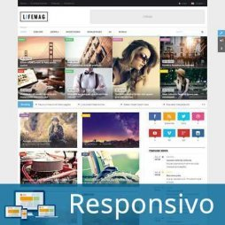 Template noticias revista portal site pronto responsivo super eleva 219