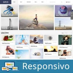 Template noticias revista responsivo super eleva 230