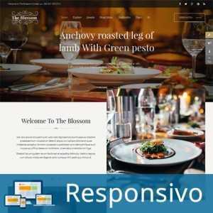 Template restaurante comida responsivo super eleva 224