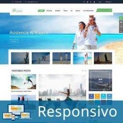 Template turismo agencia de viagem site pronto responsivo super eleva 141