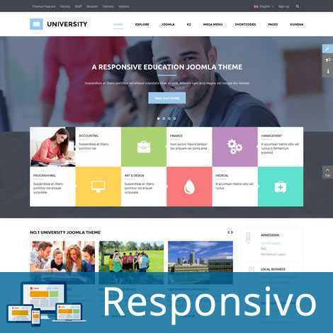 Escola Universidade Template Joomla Responsivo 241