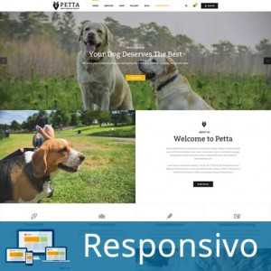 Template veterinario petshop animais responsivo super eleva 199