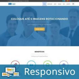 Template wordpress portugues uma página responsivo super eleva 221