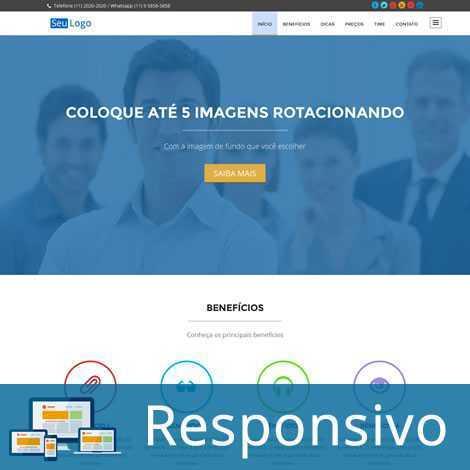 Uma Página Template Wordpress Português 221
