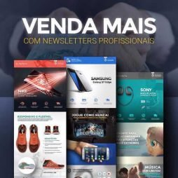 criar template newsletter email marketing personalizado