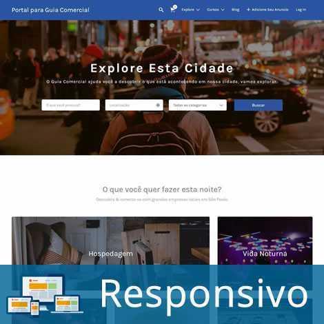 Guia Comercial Template Wordpress Português 255 A 1