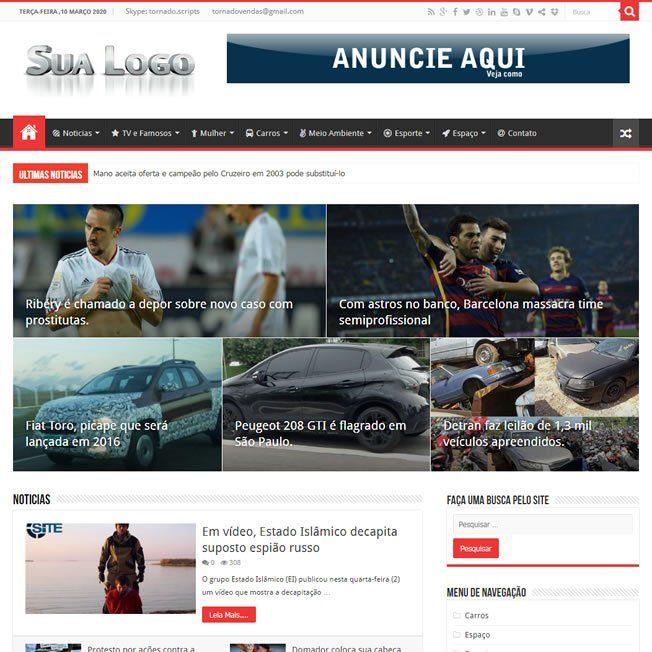 Plataforma Portal Notícias