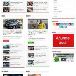 Portal Notícias Template WordPress Português Responsivo 267 A v2