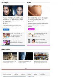 Portal Notícias Template WordPress Português Responsivo 267 A v3
